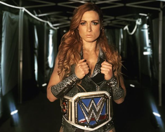 Becky Lynch The Man Double Champion Champ Champ Wrestlemania Baby Bodysuit