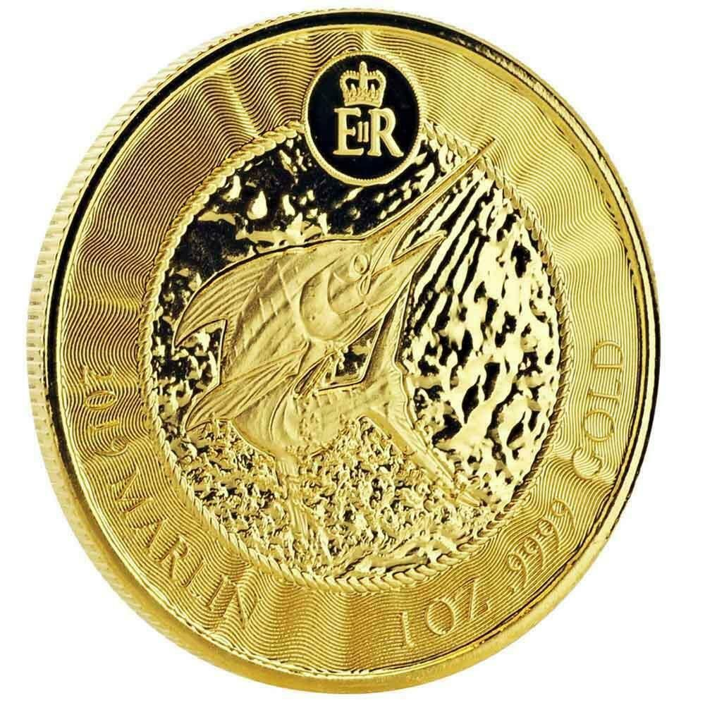 Special Price 2019 1 Oz Cayman Islands Marlin 9999 Gold Coin A451 Ebay In 2020 Gold Coins Gold Bullion Coins