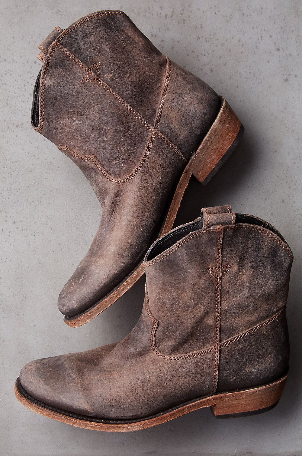 Boots, Ankle cowboy boots