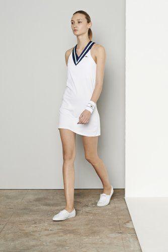 Sleeveless Technical V Neck Tennis Dress Tennis Dress Tennis Fashion Clothes