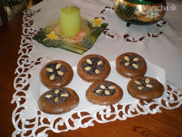 Medové koláče s makom (fotorecept)