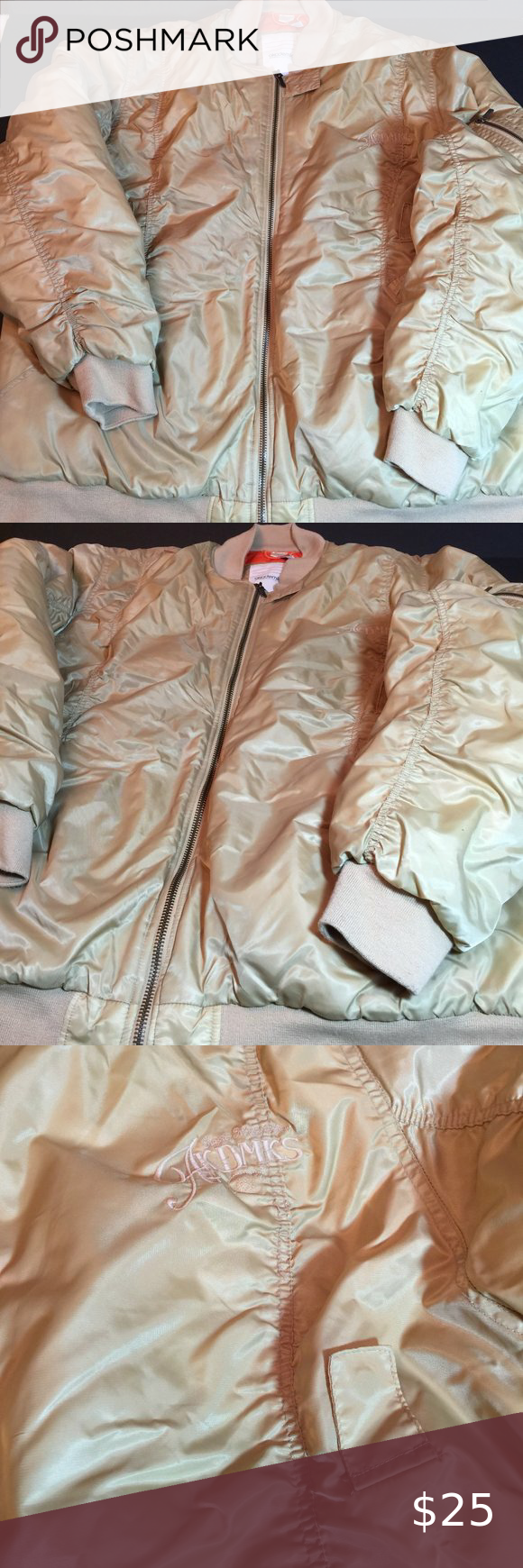 Akademiks Tan Gold Nordic Program Puffer Coat 4XL Akademiks Tan Gold Nordic Program Puffer Coat 4XL  See last photo of discoloration near zipper; I only noticed this under direct photography lighting.  See all 8 photos for condition; photos serve as additional description.  All noticed flaws will be mentioned.  Offers are welcome; bundle with other items for best price.   Same or next business day shipping.  Cat-loving, non-smoking home.  6RJ61720:8523-927:C1.5  men coats jackets puff mens Akade