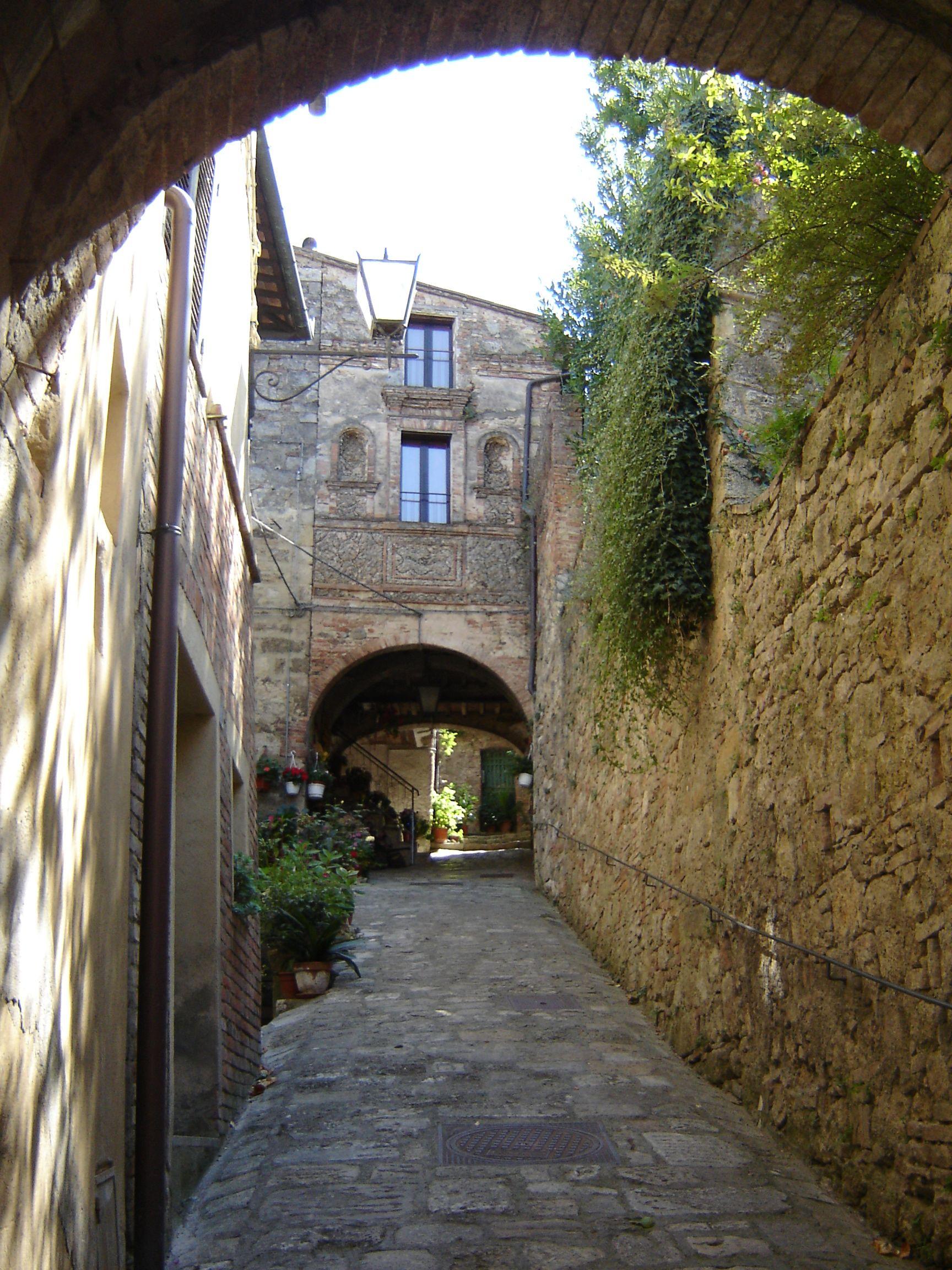 Doorway in Cetona Italia Tuscany Pinterest