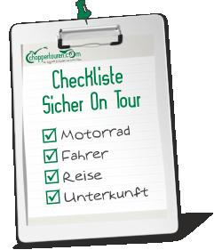 Checkliste Sicher On Tour