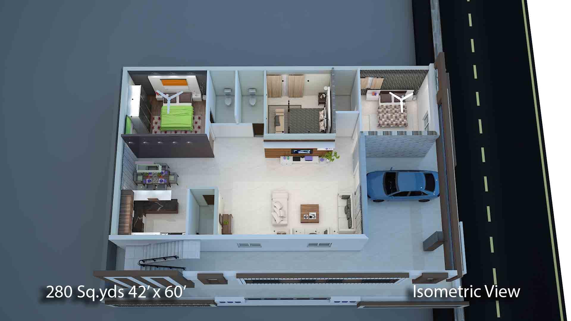 280 Sqyrds 42x60 Sqfts South Facing 2bhk House Plans House Plans Building A House Indian House Plans