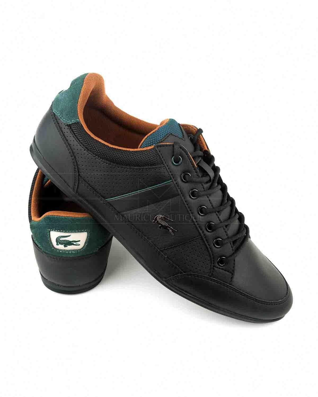 d70a8a54443 Zapatillas Lacoste Negras - Chaymon. Zapatillas Lacoste Negras - Chaymon Zapatos  Hombre Moda