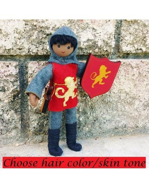 Ready To Fight Mighty Dragons And Heroically Defend His King This Gallant Knight Makes A Wonderful Addition To Any Bendy Doll Colors For Skin Tone Fairy Dolls