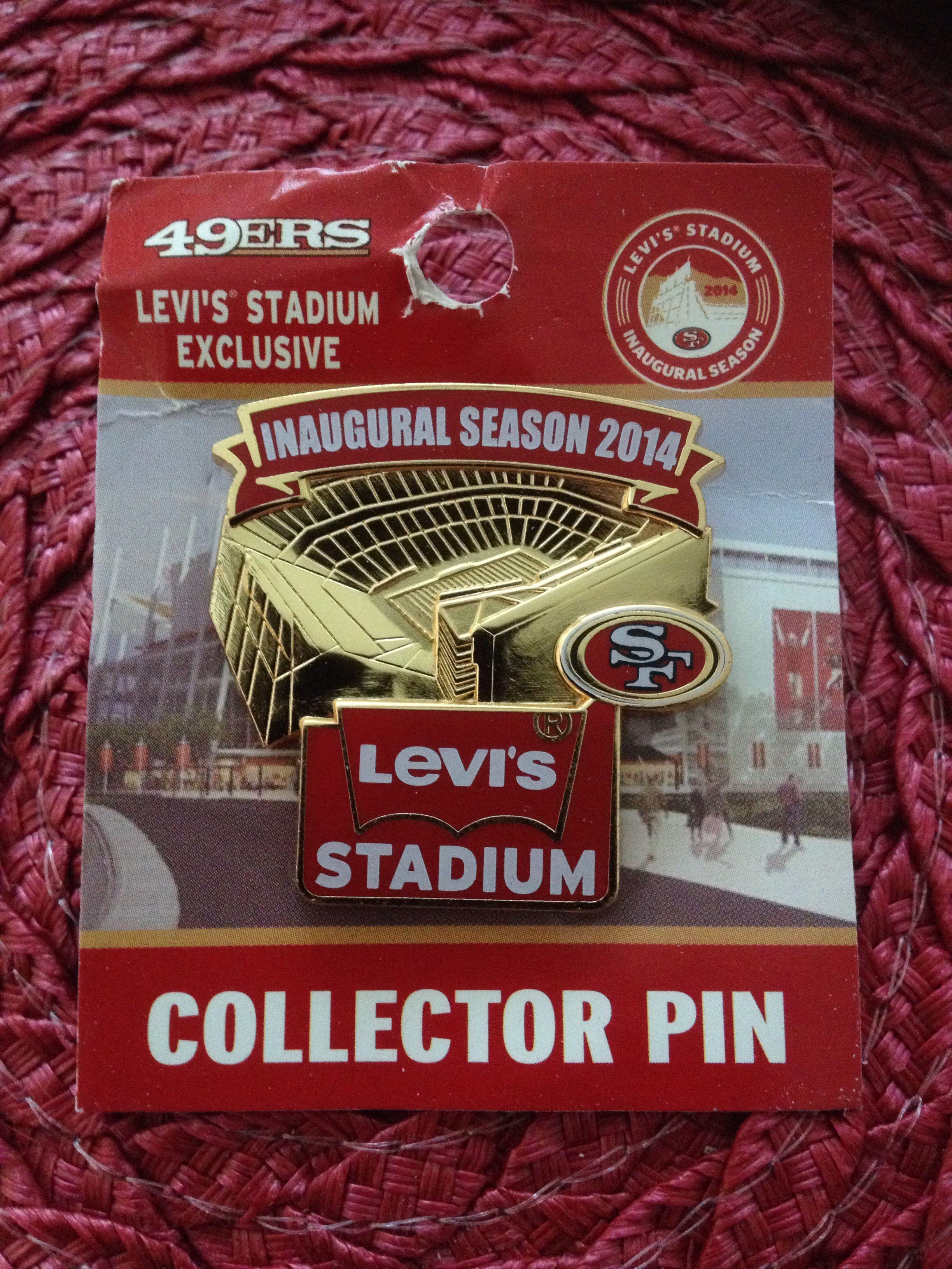 Inaugural season pin levi stadium levi stadium 49ers