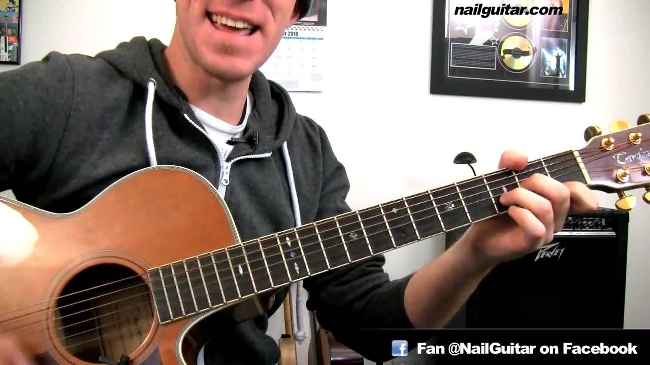 How To Play Grenade Bruno Mars Guitar Chords Tutorial Pt2