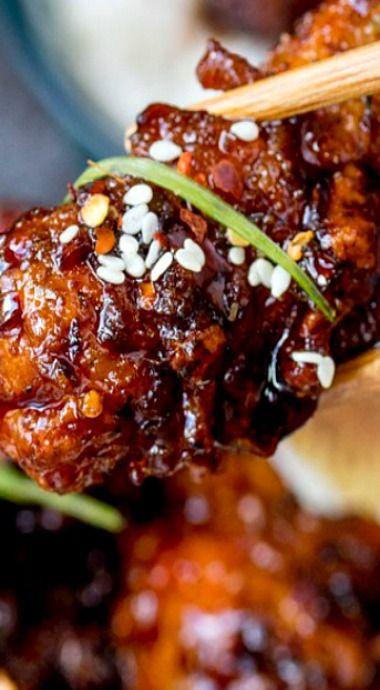 Chinese crispy chicken with honey garlic sauce chicken pinterest chinese crispy chicken with honey garlic sauce forumfinder Gallery