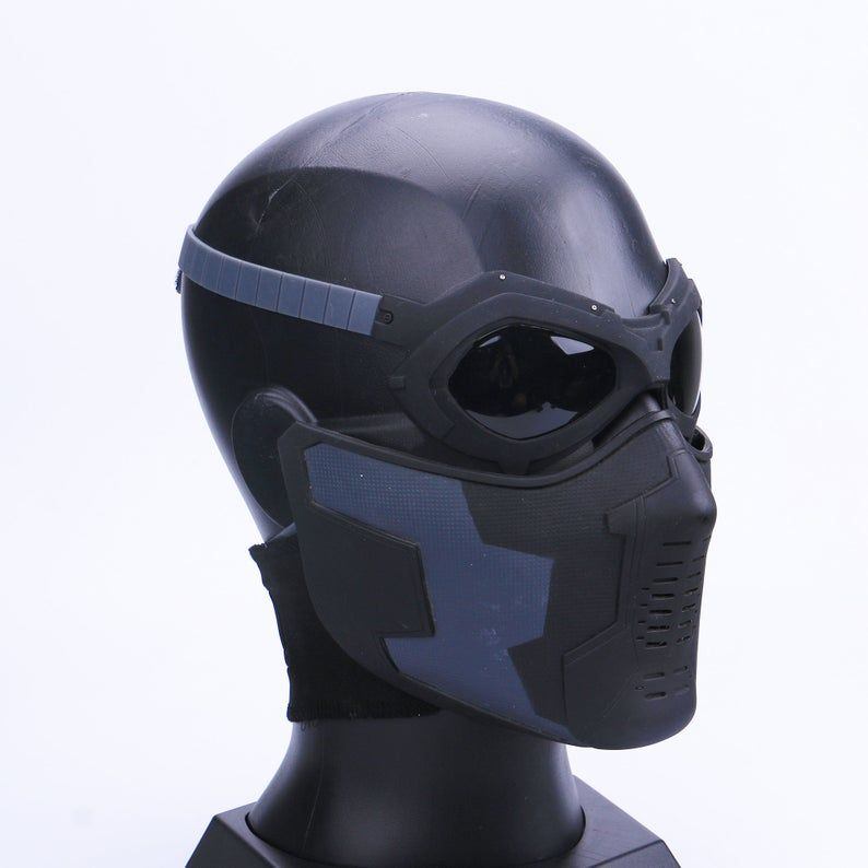 Winter Soldier Mask And Glasses Set Winter Soldier Cosplay Etsy In 2020 Winter Soldier Mask Winter Soldier Winter Soldier Cosplay