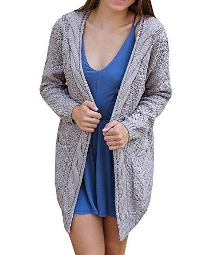 f1140d816 Perfect for any informal occasions or daily life - Ladies Knitted Boyfriend  Jumper Cardigan - Soft knit