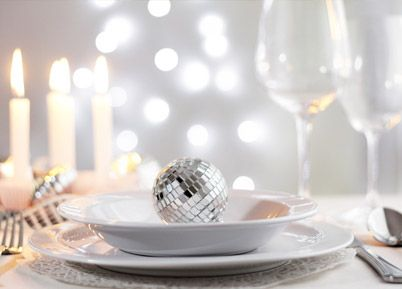 To get the look perfect you'll need an eye for detail and you'll also have to make sure that your glasses, crockery and cutlery are sparkling clean and smudge free so that the beauty of their reflective surfaces twinkle and sparkle their way across your diner table.