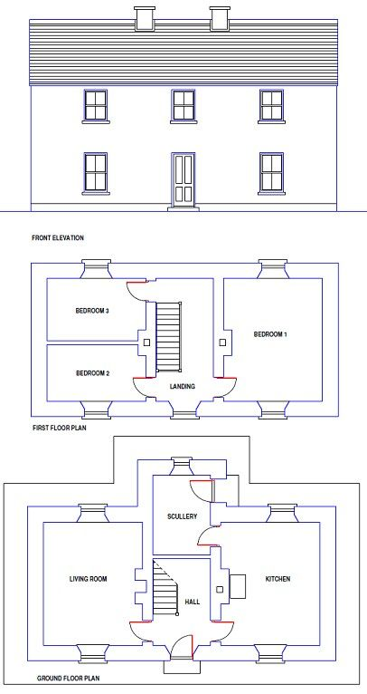 traditional irish farmhouse design and floor plan made of cob or rh pinterest com