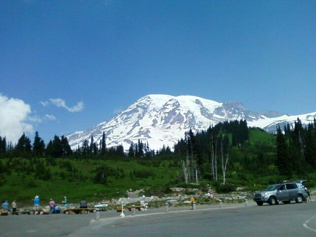 Mt. Rainier National Park, one of my favorite places to hike.