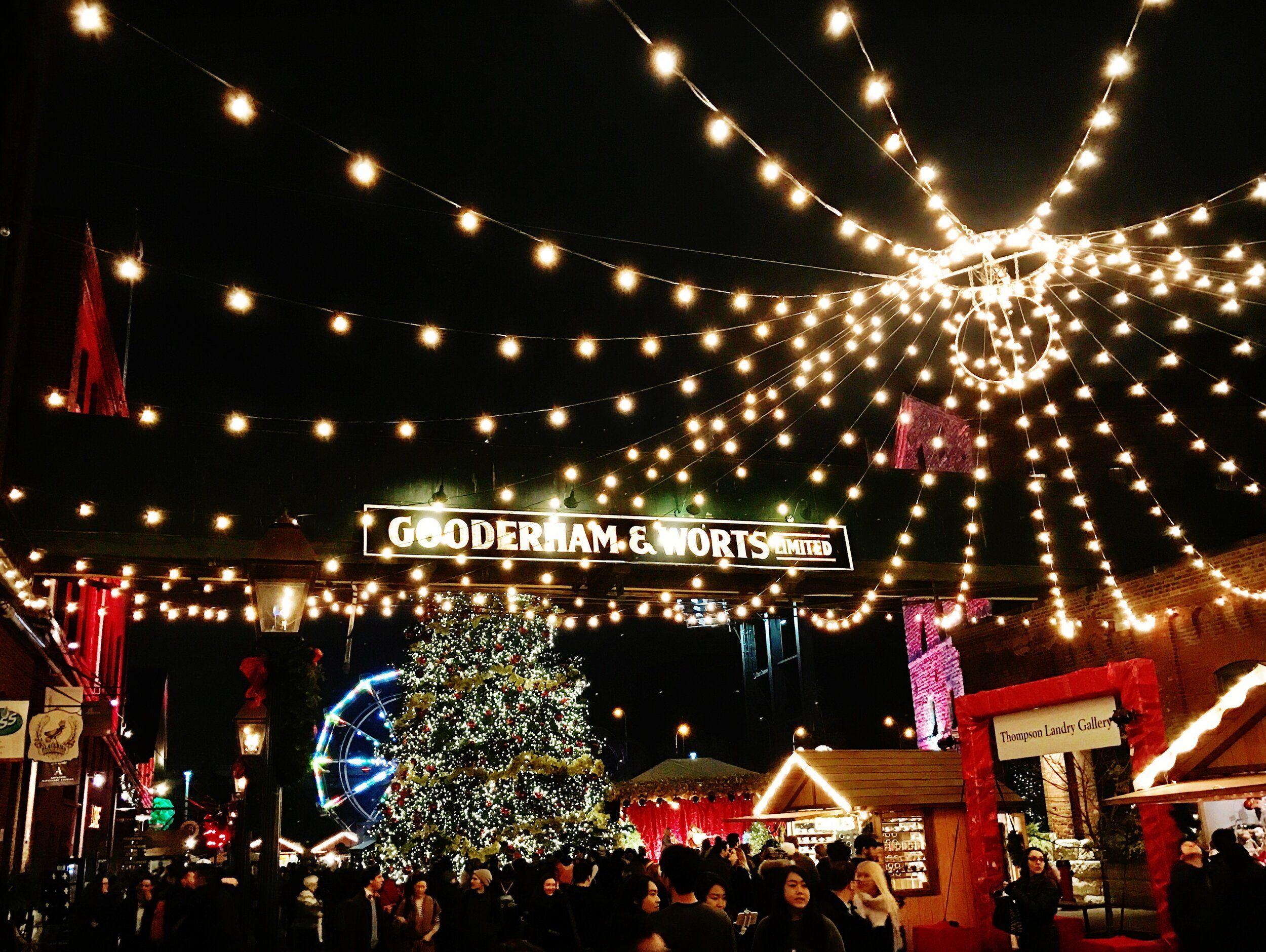 Distillery District Christmas Market Toronto Ontario Canada In 2020 Toronto Island Toronto City Woodbine Beach