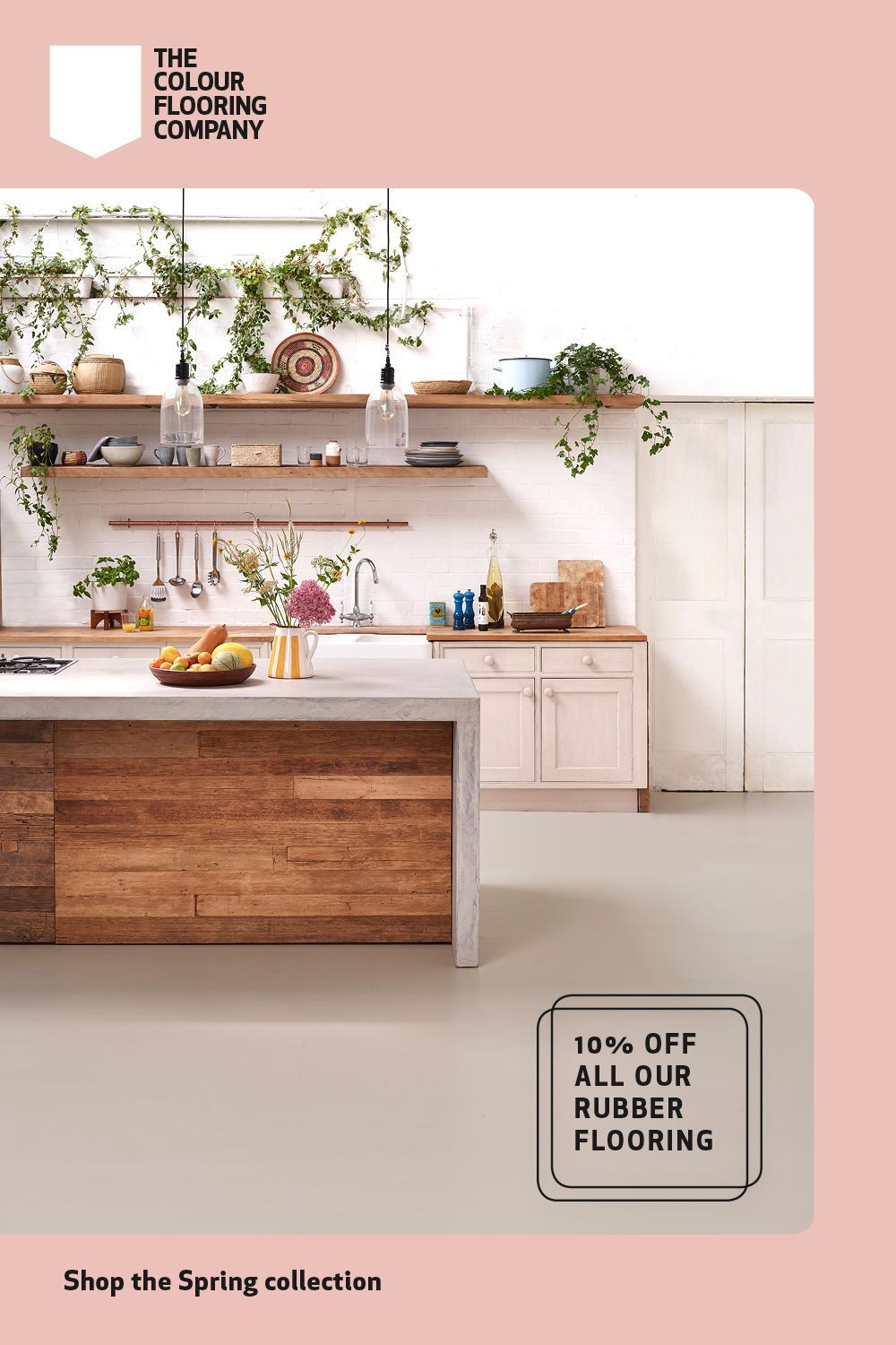 Discount on all our floors in 2020 Declutter kitchen