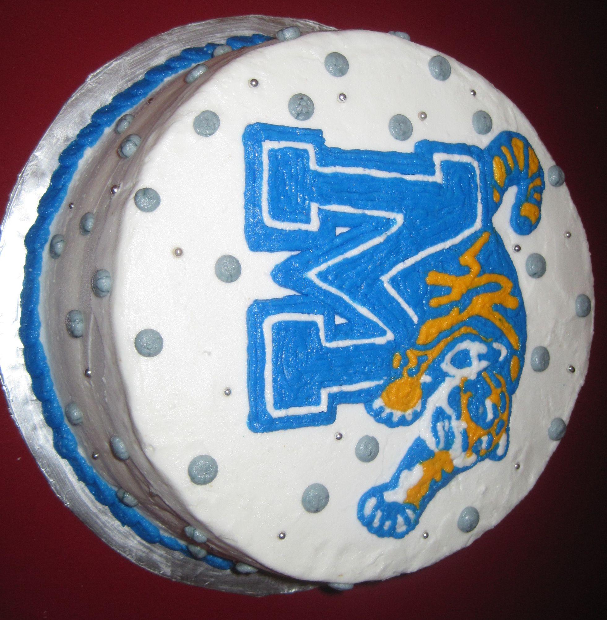 University Of Memphis Cake