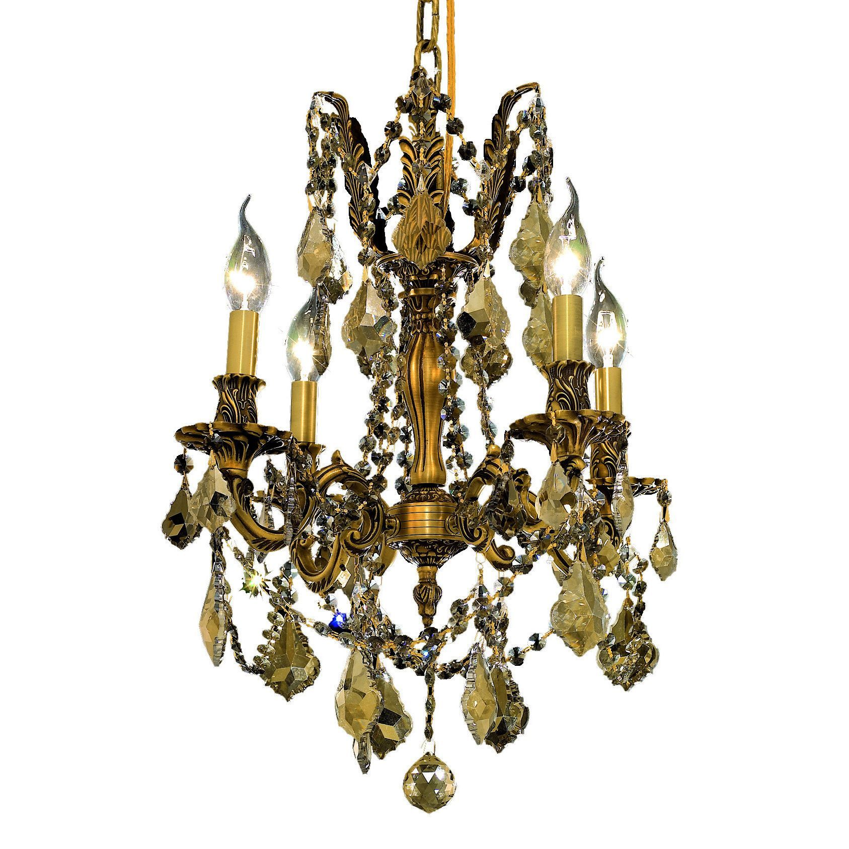Somette zurich 4 light royal cut gold crystal and french gold shop for somette zurich royal cut gold crystal and french gold chandelier get free shipping at your online home decor outlet store arubaitofo Image collections