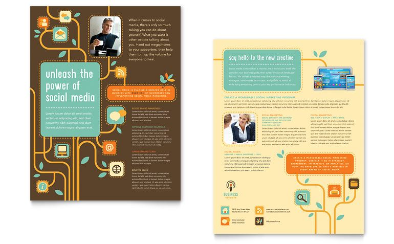 Business Services Datasheet Design Oh! The Layouts Pinterest