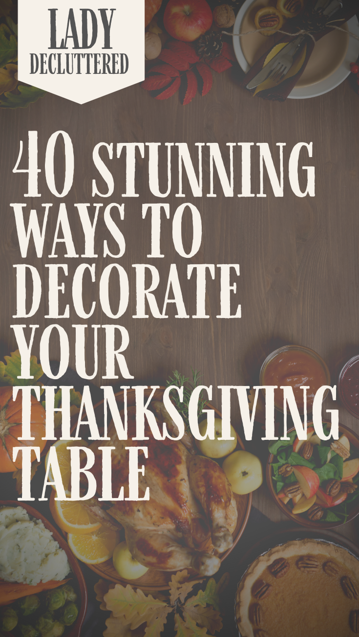 40 Minimalist Thanksgiving Table Decor Ideas