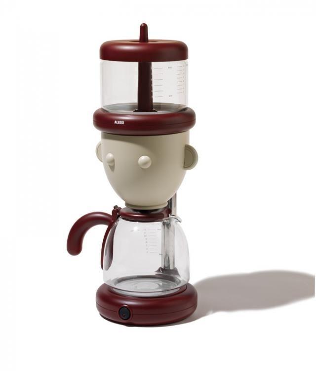 alessandro mendini geo drip coffee maker