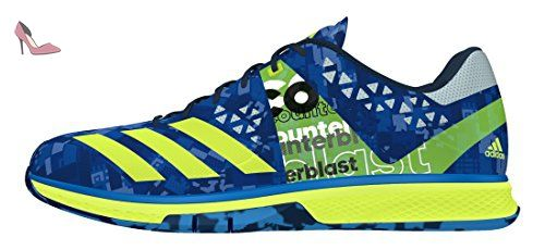 huge discount beec5 5eddb adidas Counterblast Falcon, Chaussures de Handball Homme, Bleu-Azul (Azuimp    Amasol