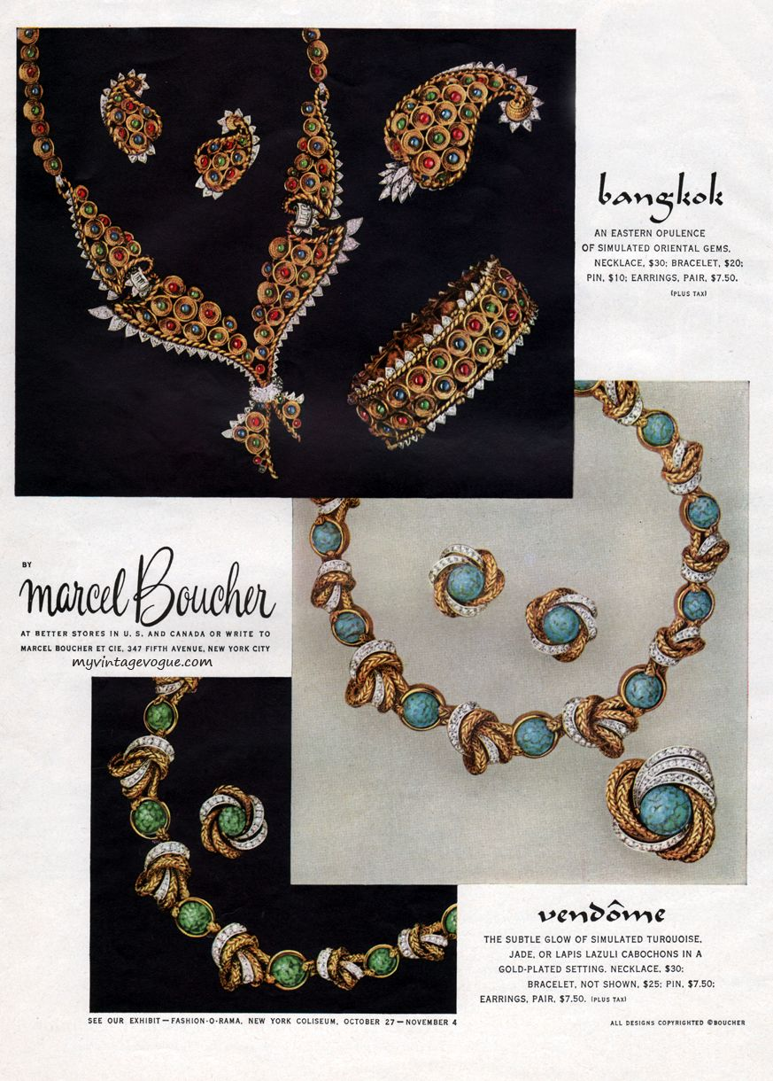 Marcel boucher in vogue boucher ad pinterest ads costume