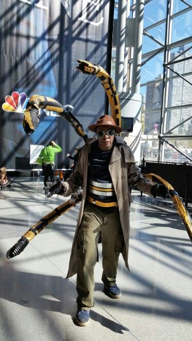 Nycc Doctor Octopus Cosplay Doctor Octopus Cosplays Pinterest