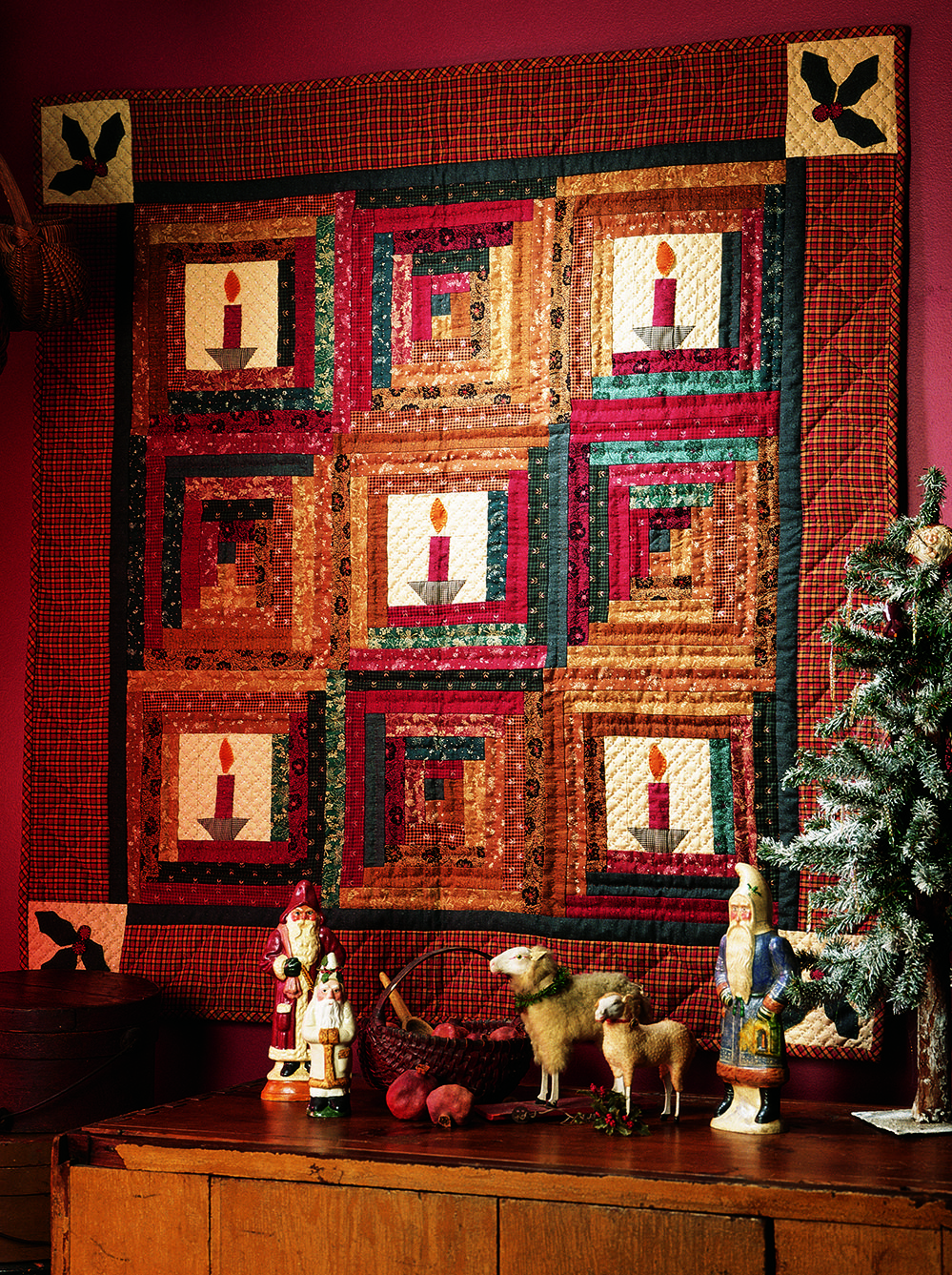 Christmas By Candlelight Quilting Pattern From The Editors