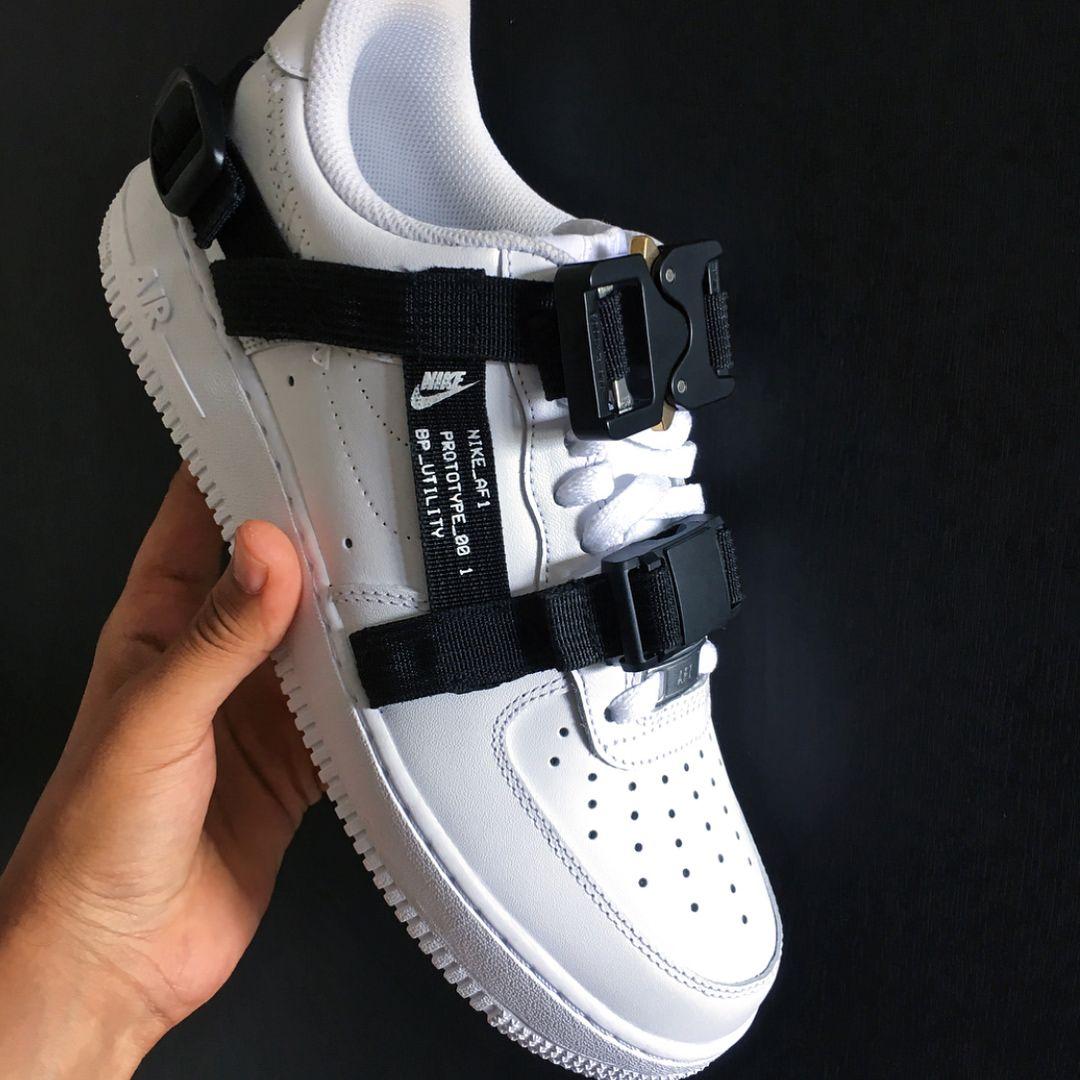 the best attitude e9e9e 42213 ALYX ⛓ Nike Air Force, Custom Sneakers, White Sneakers, Shoes Sneakers,