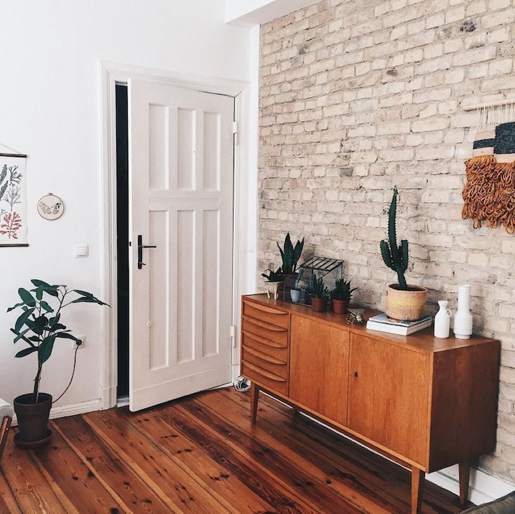 my scandinavian home: a mid-century credenza in the lovely, relaxed home