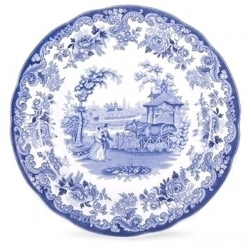 Blue Room  Spode Blue Room The Rhinoceros House Dinner Plate 27cm  sc 1 st  Pinterest & Blue Room : Spode Blue Room The Rhinoceros House Dinner Plate 27cm ...