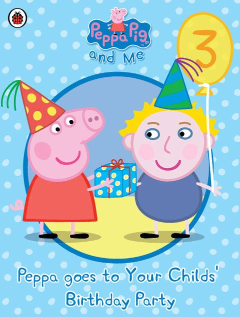Http www penwizard co uk personalise personalised peppa pig peppa goes to your childs party1 htm birthday party pinterest birthdays