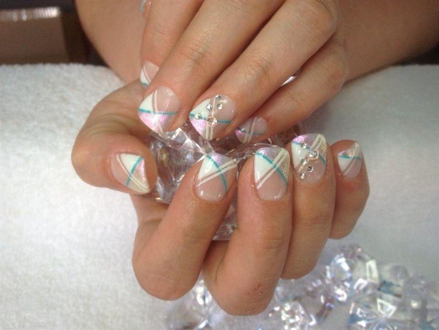 Teal / Pink | Nail Art | Pinterest | Nail art galleries and Nails ...