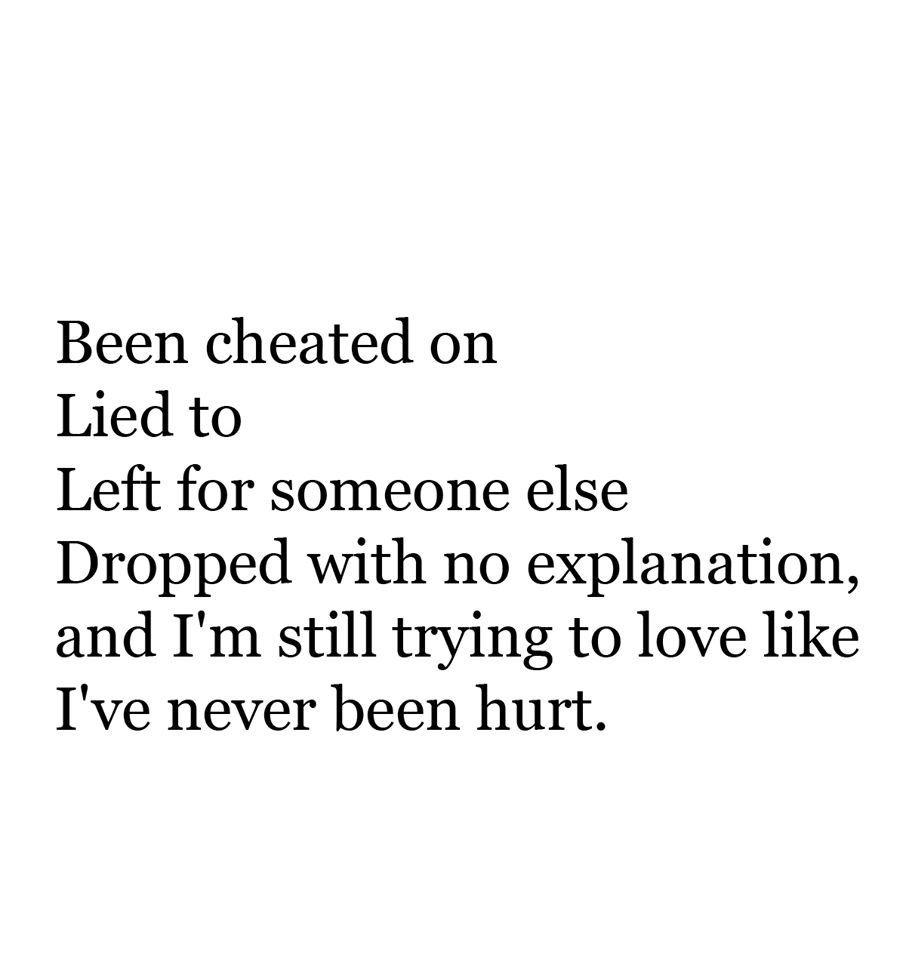 But Its So Freggin Hard Especially When You Still Love Someone