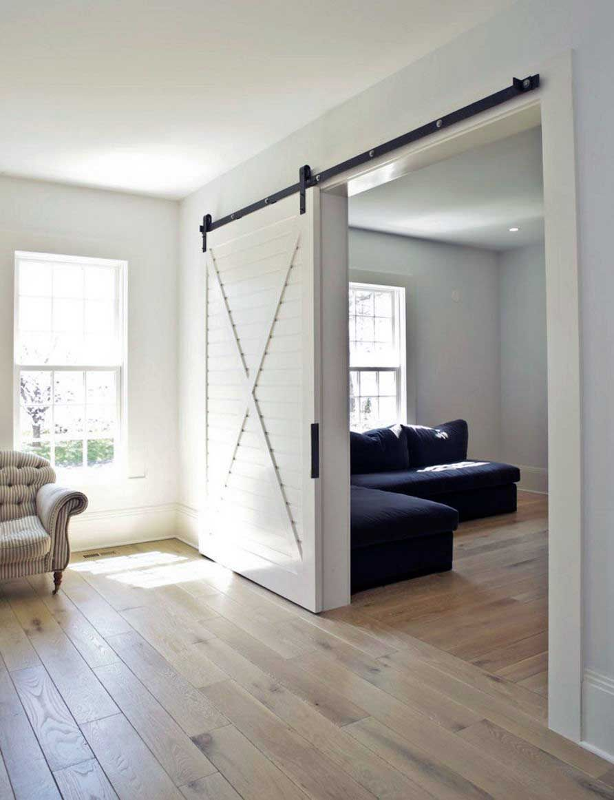 Modern Living Room Sliding Doors Ideas Farm House Living Room Inside Barn Doors Room Door Design