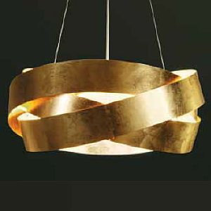 Pura Gold Metal Ceiling Pendant Light From Marchetti Living Room