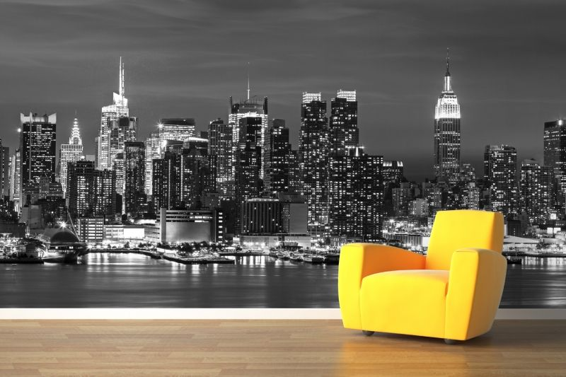 New York Landscape Wallpaper Wall Mural
