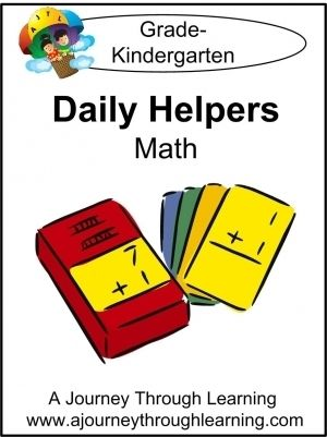 Daily Helper Lapbook-K-5 - A Journey Through Learning | Math Lapbooks | Early Learning Lapbooks | CurrClick