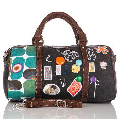 Personalised Embroidered Gymnastics Bag, Holdall (Black)