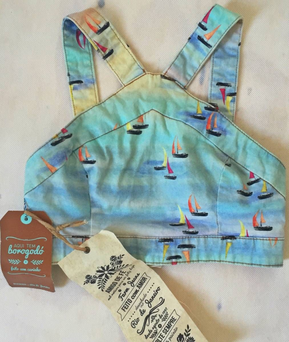 6b7d2d9094 Cropped Farm Jeans Barquinhos - 15457286