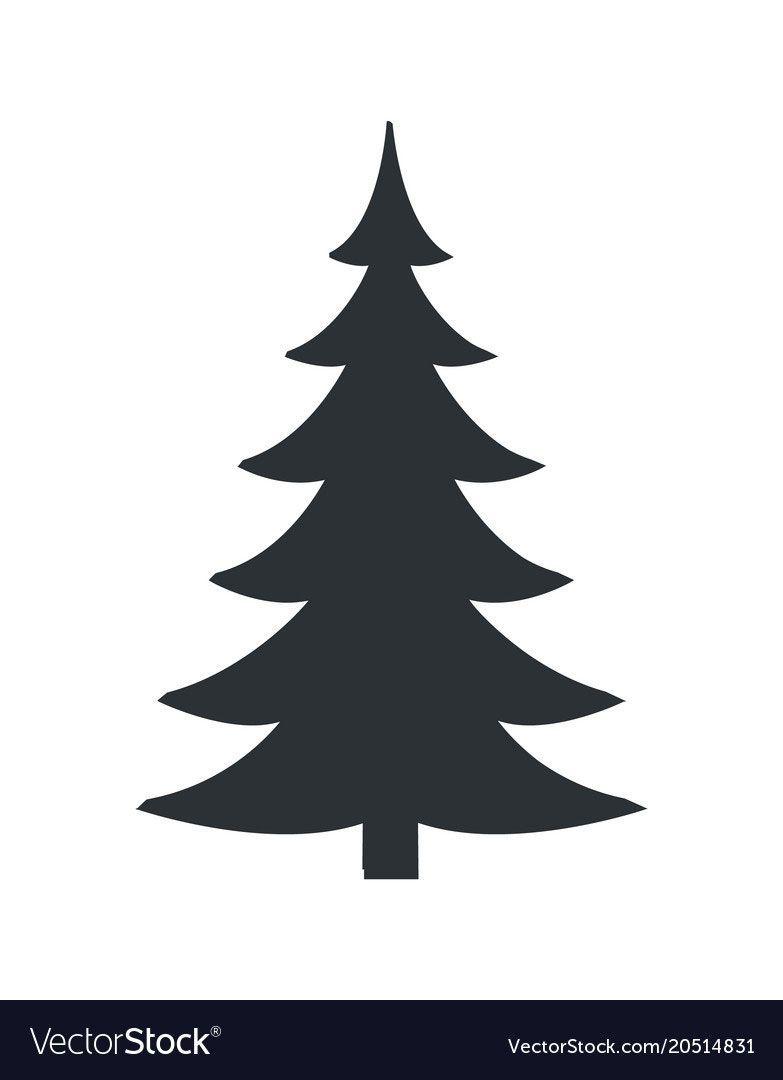 20 Charming Christmas Tree Vector Silhouette Christmas Tree Silhouette Black Christmas Trees Glam Christmas Tree