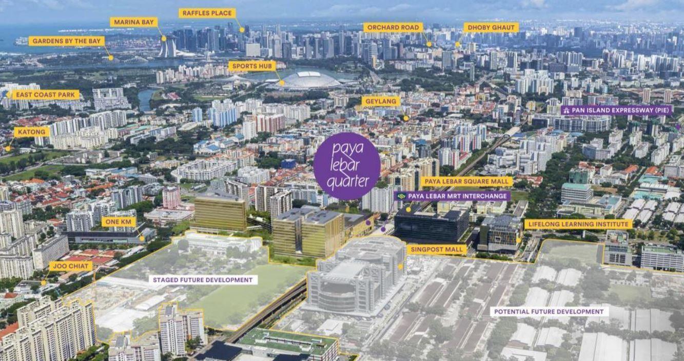 Paya Lebar Master New Condo Changi Business Park Gardens By The Bay