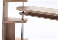 schreibtisch matt computertisch in sonoma eiche s gerau schreibtisch. Black Bedroom Furniture Sets. Home Design Ideas