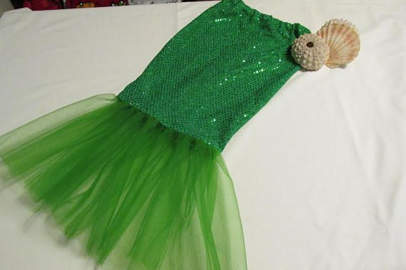Photo of Mermaid skirt little mermaid costume girls mermaid skirt sizes 2 to 6