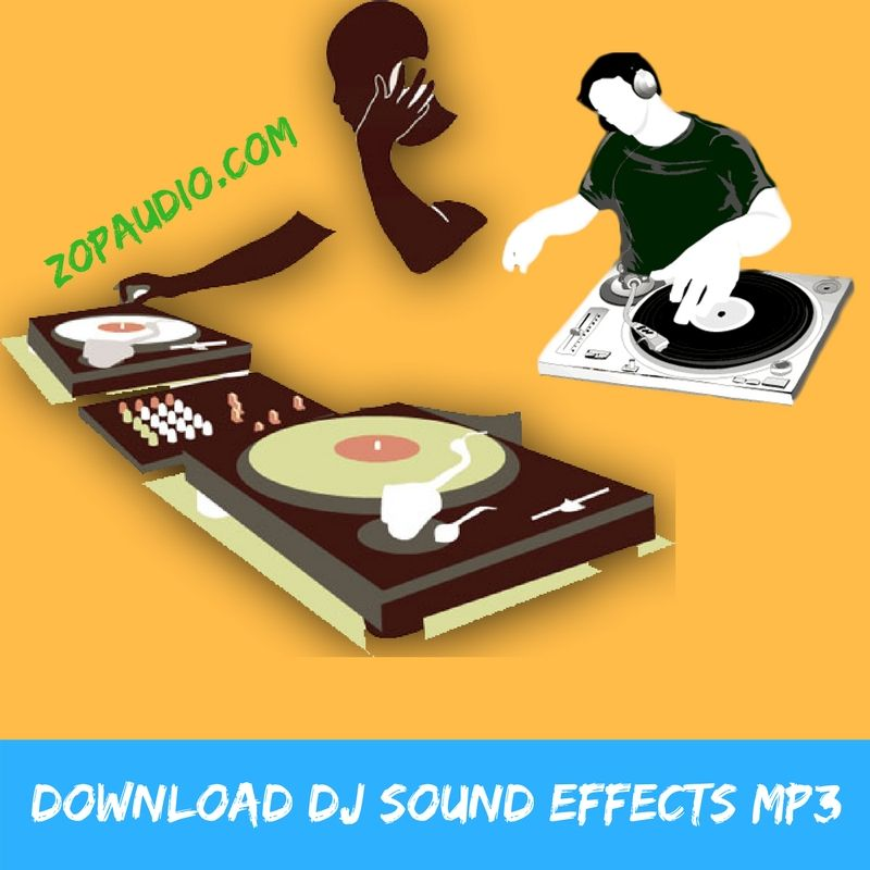 Dj uses the sound effect of the disc player   sound effects mp3.