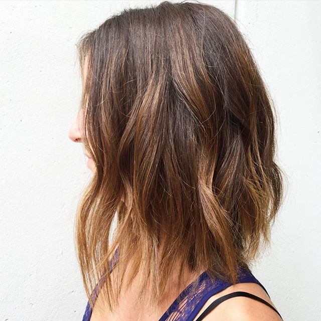 25 Hottest Bob Haircuts \u0026 Hairstyles for 2017 , Bob Hair Inspirations.  Caramel Highlights ScanBrown BalayageHair