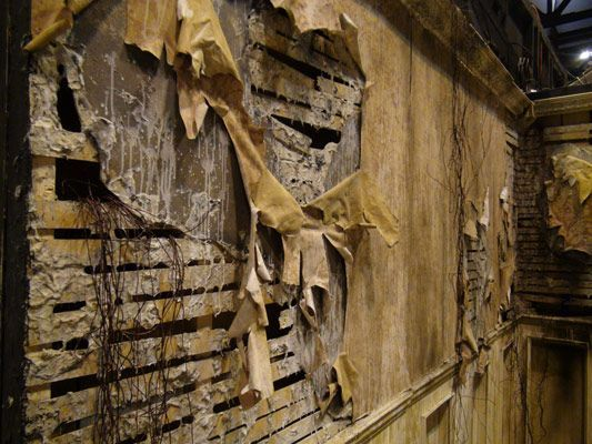 nevermore productions halloween haunt wall photo by terra