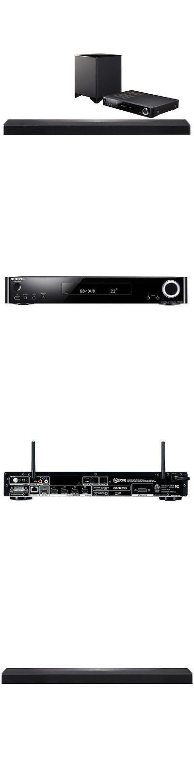 Home Theater Systems: Onkyo Sbt-A500 Object-Based Network Surround ...